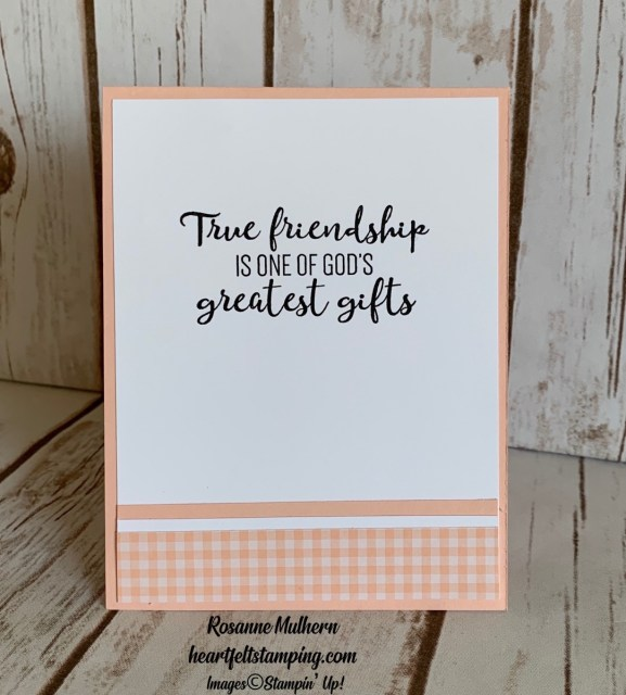To A Wild Rose Friendship Card Ideas - Rosanne Mulhern stampinup