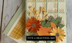 Stampin Up Best Plaid Friendship Card Idea -Rosanne Mulhern stampin up