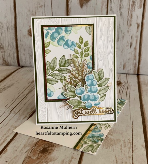 Stampin Up Forever Fern Birthday Card Ideas-Rosanne Mulhern stampinup