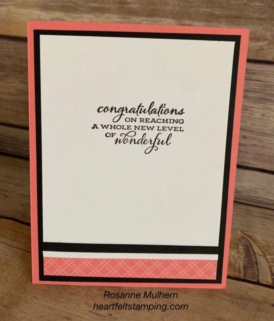 Stampin Up True Love Celebration Card - Rosanne Mulhern stampinup