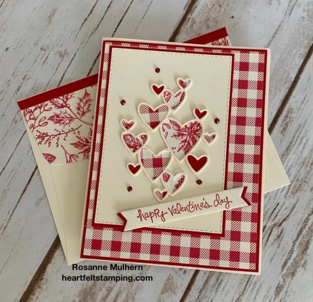 Stampin Up Valentine Card Idea -Rosanne Mulhern stampinup
