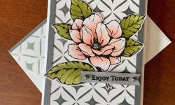 Stampin Up Good Morning Magnolia Thinking of You Card - Rosanne Mulhern stampinup