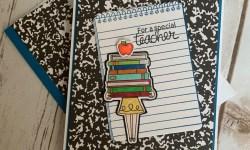 Newton's Nook Classy Teachers Thank You Card - Rosanne Mulhern