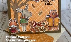 MFT Sweater Weather Fall Card -Rosanne Mulhern