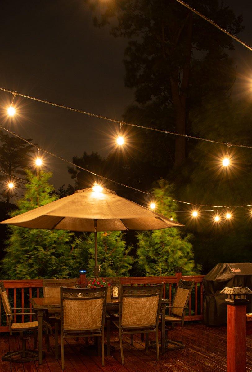 edison outdoor string lights
