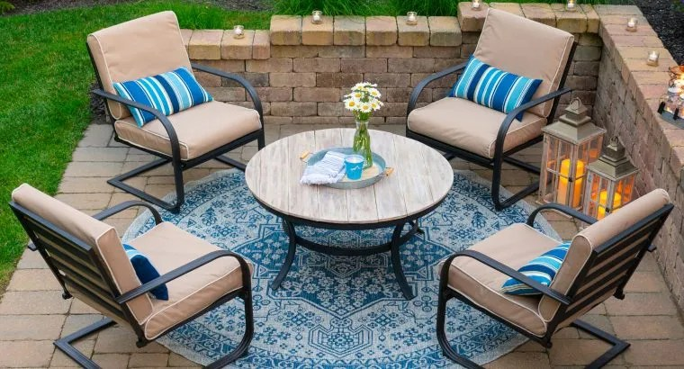 update your patio decor on a budget