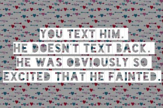 6 Sure Signs He Likes You - Heart Hackers Club -  - Text