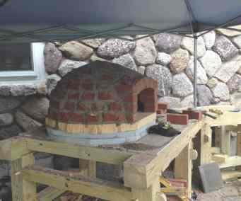 Ray's Backyard Brick Oven