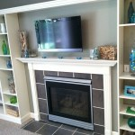 Faux Built In Billy Bookcase Ikea Hack Hearthavenhome