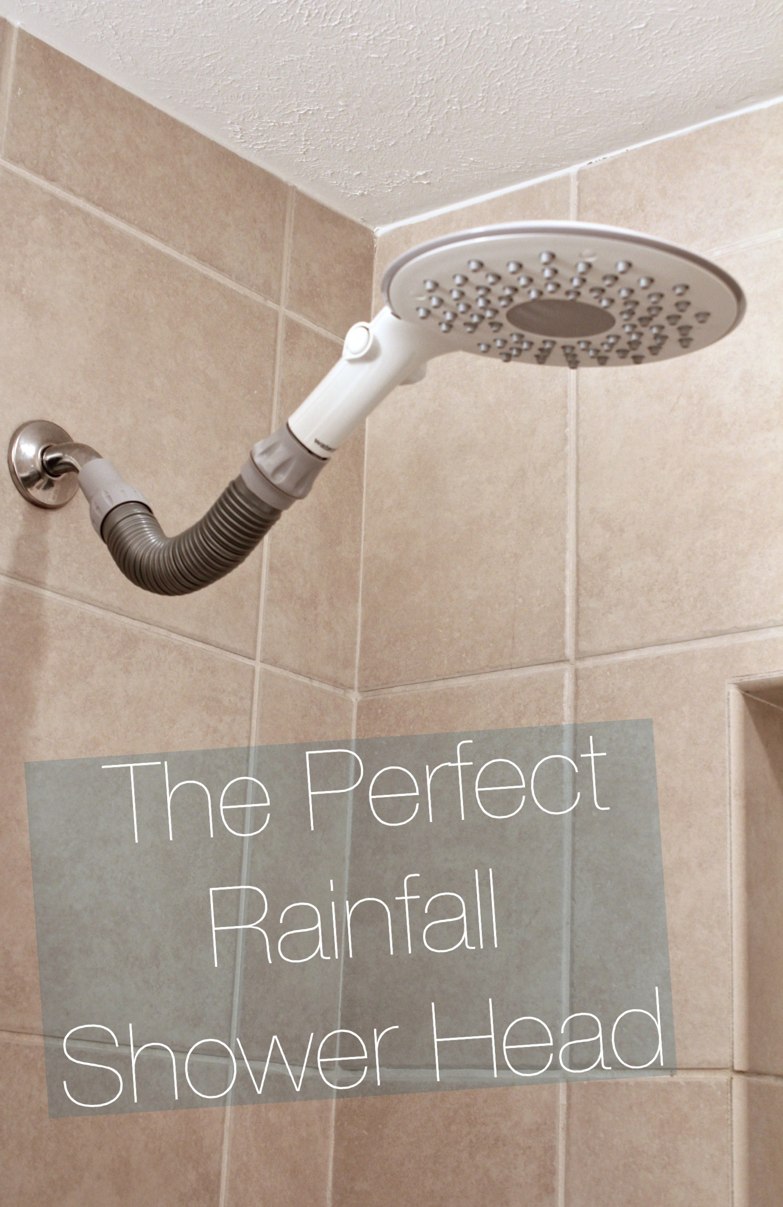 Quick Update Installing A Rainfall Shower Head  HeartHavenHome