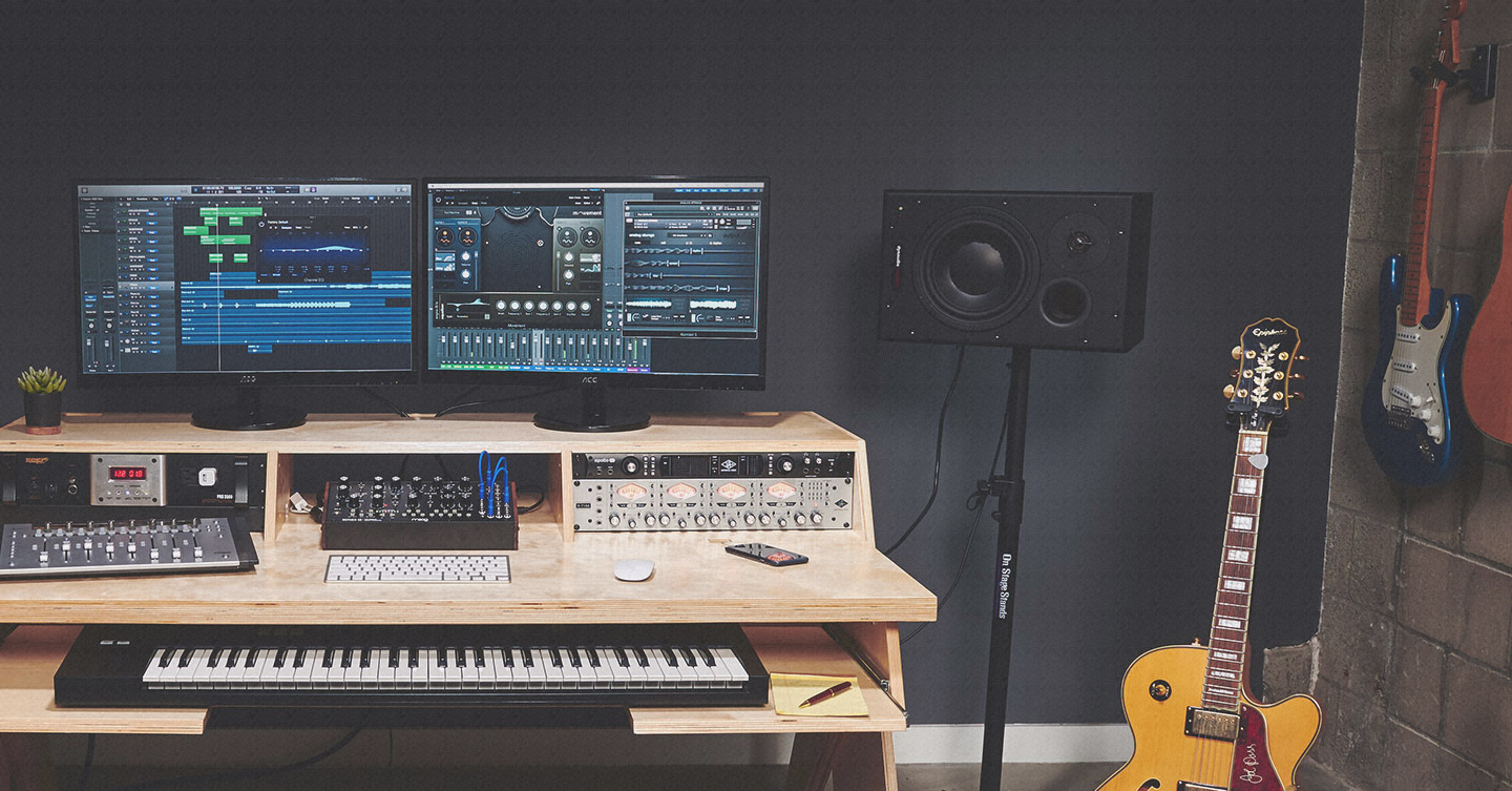 The Essential Studio Desk Buyers Guide For DIY Musicians