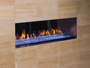 palazzo heatilator see through gas fireplace