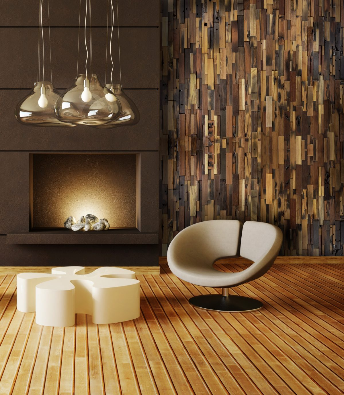 Decorating Ideas Using Rustic Wood Panels Hearth Manor Fireplace Design