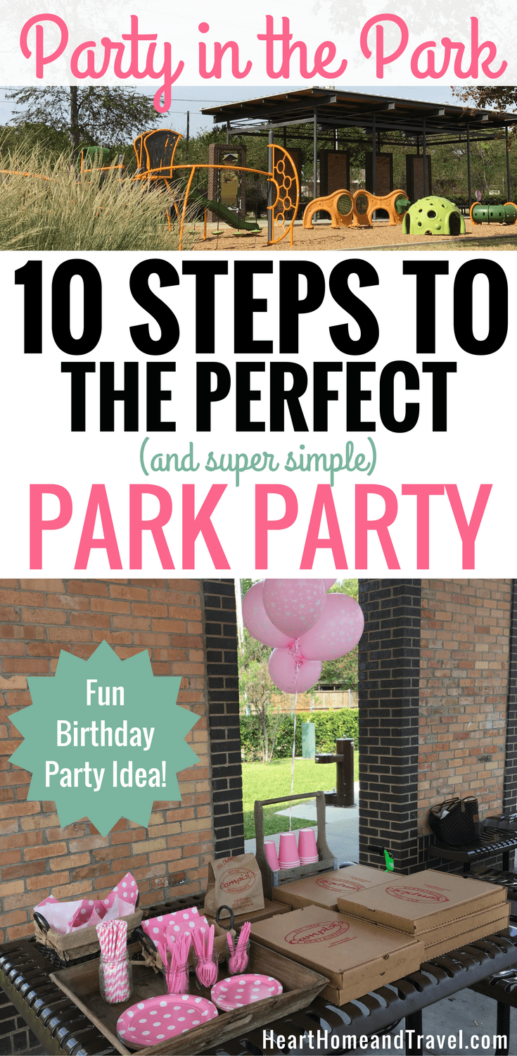 Party in the Park Birthday Ideas Toddler Second