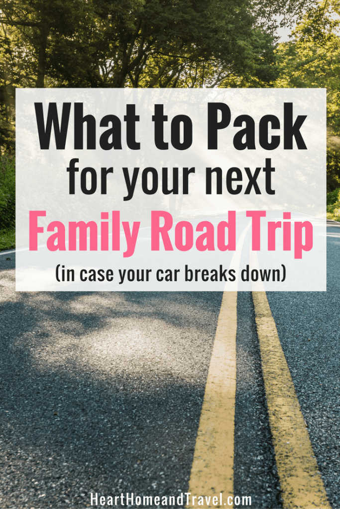 What to Pack for your next Family Road Trip