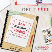 Bad Blogging Habits