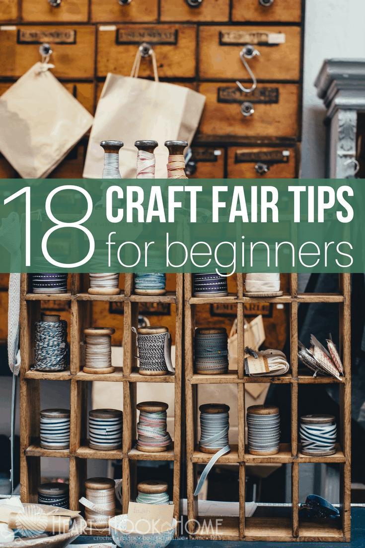 18 Craft Fair Tips For Beginners