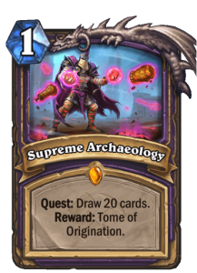 Supreme Archaeology