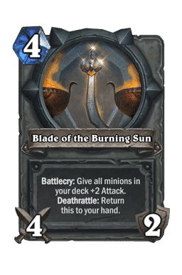 Blade of the Burning Sun
