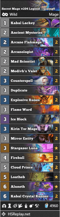 Secret Mage #204 Legend - raizing0