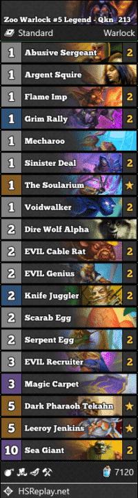 Zoo Warlock #5 Legend - Qkn_213