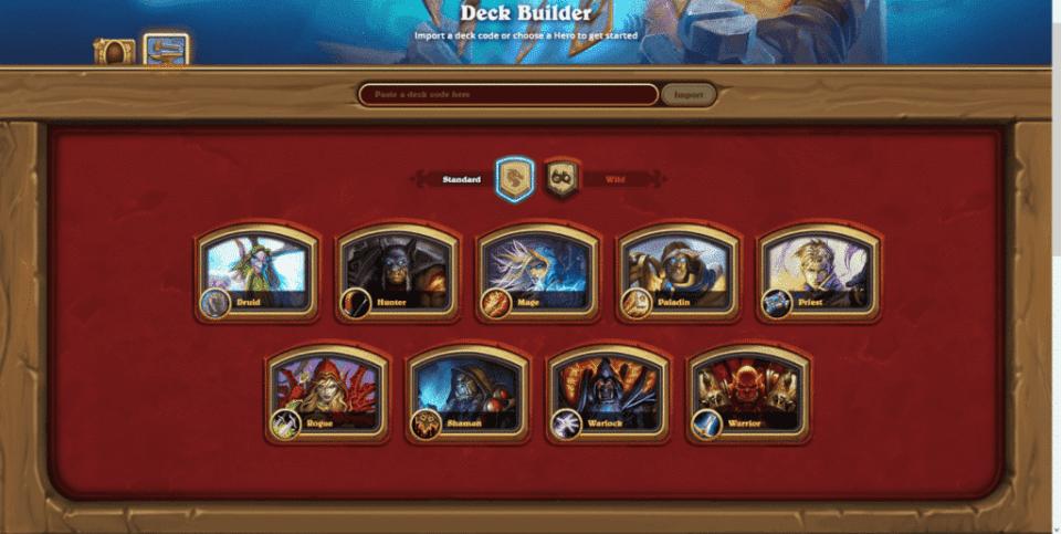 Deck Builder - Class