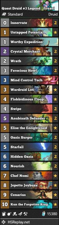 Quest Druid #3 Legend - fireaei