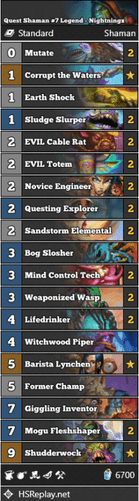 Quest Shaman #7 Legend - Nightningz