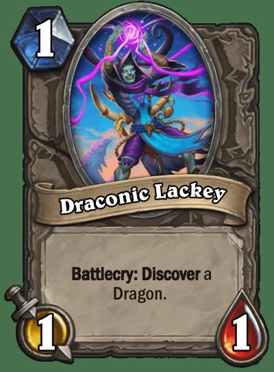 Draconic Lackey