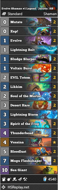 Evolve Shaman #1 Legend - Juristis_HS