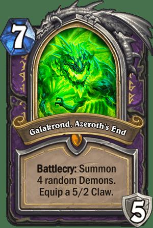 Galakrond Azeroths End - Warlock