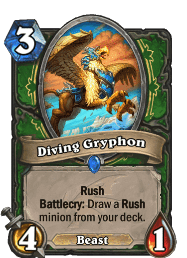 HQ Diving Gryphon