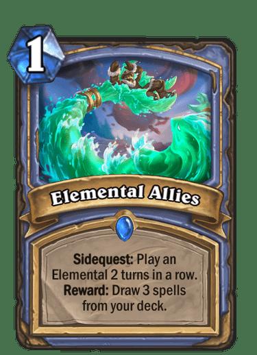 HQ Elemental Allies