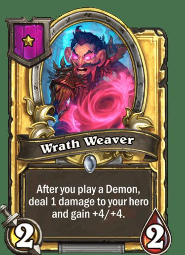 Wrath Weaver upgraded