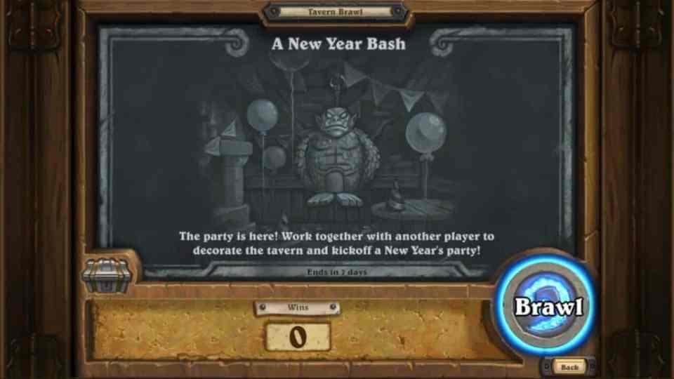 A New Year Bash