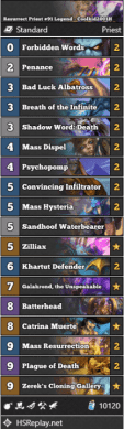 Resurrect Priest #91 Legend - Coolkid2001H