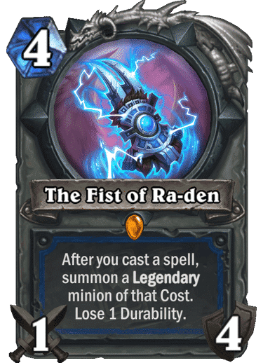 HQ The Fist of Ra-den