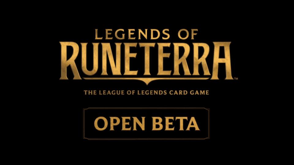Legends of Runeterra - Open Beta