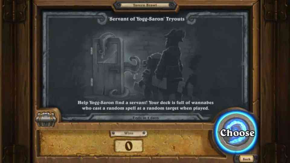 'Servant of Yogg Saron' Tryouts