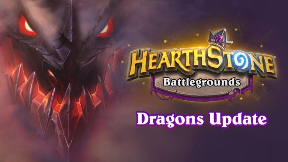 Hearthstone Battlegrounds - Dragons Update