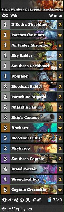 Pirate Warrior #176 Legend - naoclaus0512