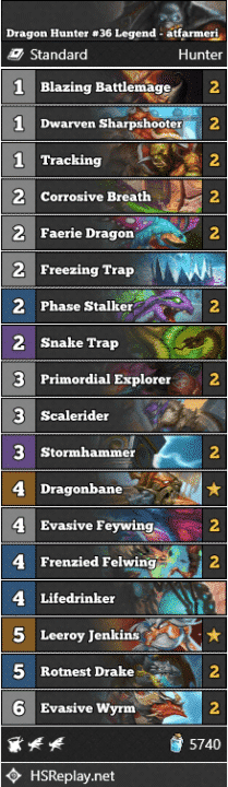 Dragon Hunter #36 Legend - atfarmeri