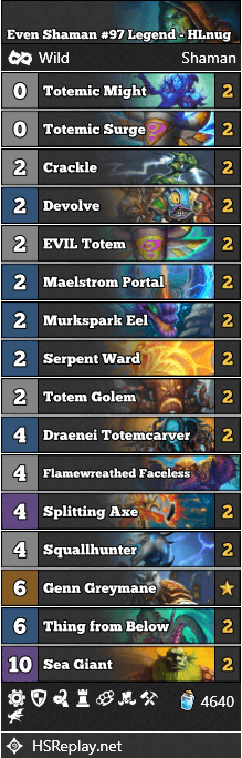 Even Shaman #97 Legend - HLnug
