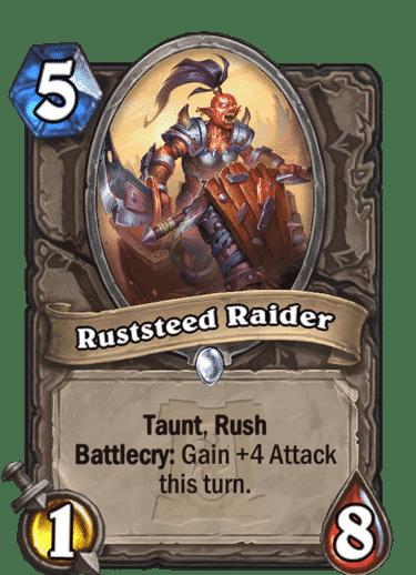 Ruststeed Raider HQ