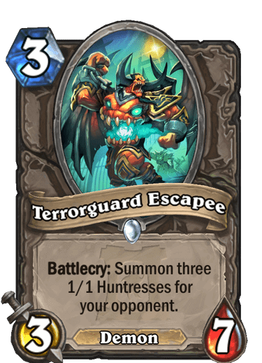Terrorguard Escapee HQ
