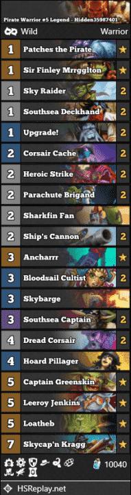 Pirate Warrior #5 Legend - Hidden35987401