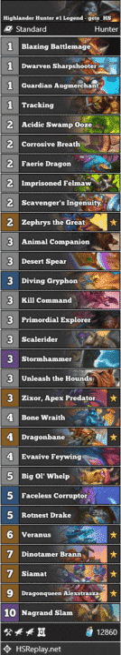 Highlander Hunter #1 Legend - gete_HS