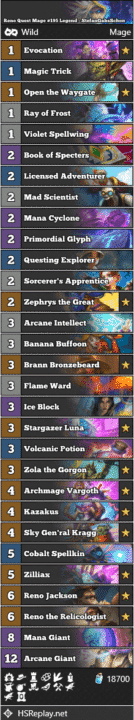 Reno Quest Mage #195 Legend - StefanGabsSchon