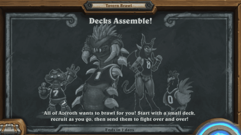 Tavern Brawl - Decks Assemble!