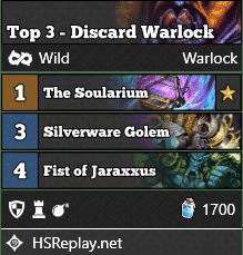 Top 3 - Discard Warlock